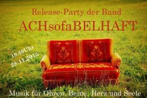 ACHsofaBELHAFT Live Musik am 28.11 im Pepito